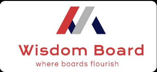 Wisdom board template logo 1